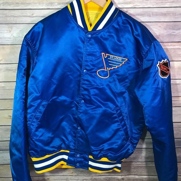 Vintage St Louis Blues 80's Bomber Jacket